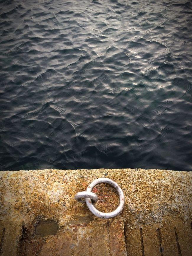 Ring Mooring Bretagne Brittany Docking Ring Sea