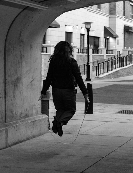 Walking Rear View Full Length Real People Lifestyles Adults Only One Person Only Women Built Structure One Woman Only Canonphotography Canon5dmarkiii Canon5Dmk3 Street Photography Streetphotography Architecture Architecture Building Exterior Adult Outdoors Day People Break The Mold