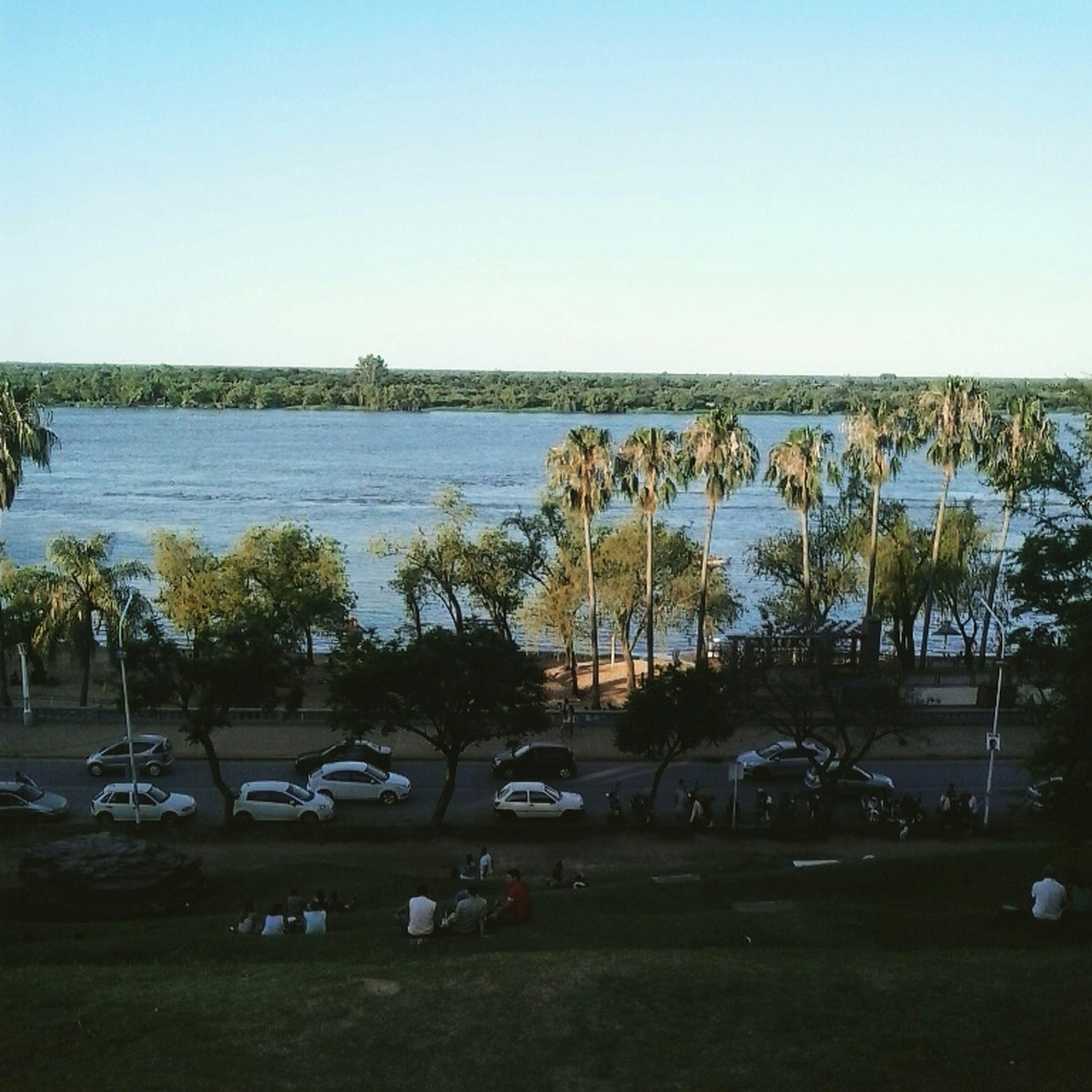 Linda vista!!! Paraná ParqueUrquiza LindaVista✌☺