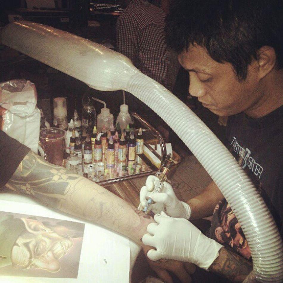 Mr. Daus - Daus n Ambond Tattoo and Piercing Studio Tattoo Surerealist Colourtattoo Colour tattooartist littlecamera lomo