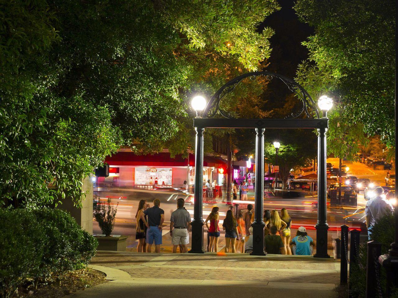 The Arch at night , Athens GA First Eyeem Photo