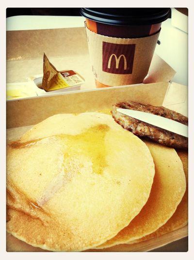 Breakfast Goodmorning :) At McDonald's