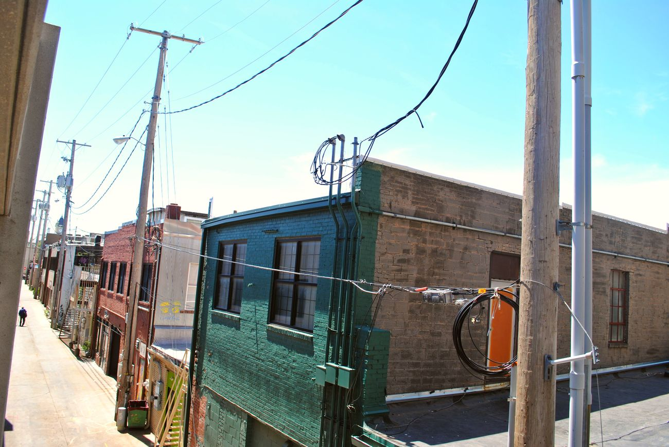 Architecture Back Alley Building Building Exterior Built Structure Cable City Day Mass Street Pole Power Line  Street Street Photography Telephone Pole The Street Photographer - 2016 EyeEm Awards