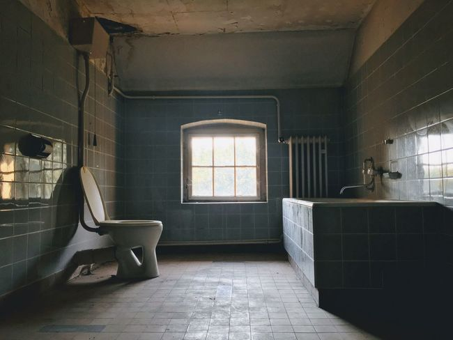 Abandoned places from the archives Indoors  No People Window Architecture Absence Tile Day Abandoned Bathroom Home Interior