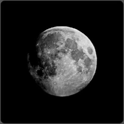 Supermoon - Galaxy S5 through old russian telescope Supermoon 2014 Supermoon Black & White Black And White
