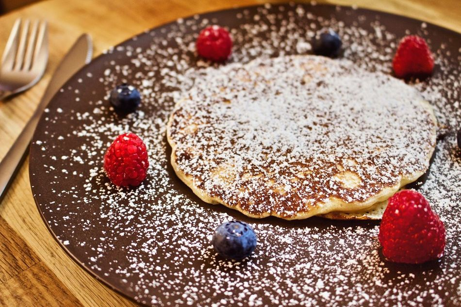Good Morning everyone, have a nice weekend and enjoy your breakfast 😊 Freshness Food Sweet Food Dessert Fruit Berry Fruit Food And Drink Indulgence Healthy Eating Gourmet Indoors  Ready-to-eat Close-up No People Pancakes