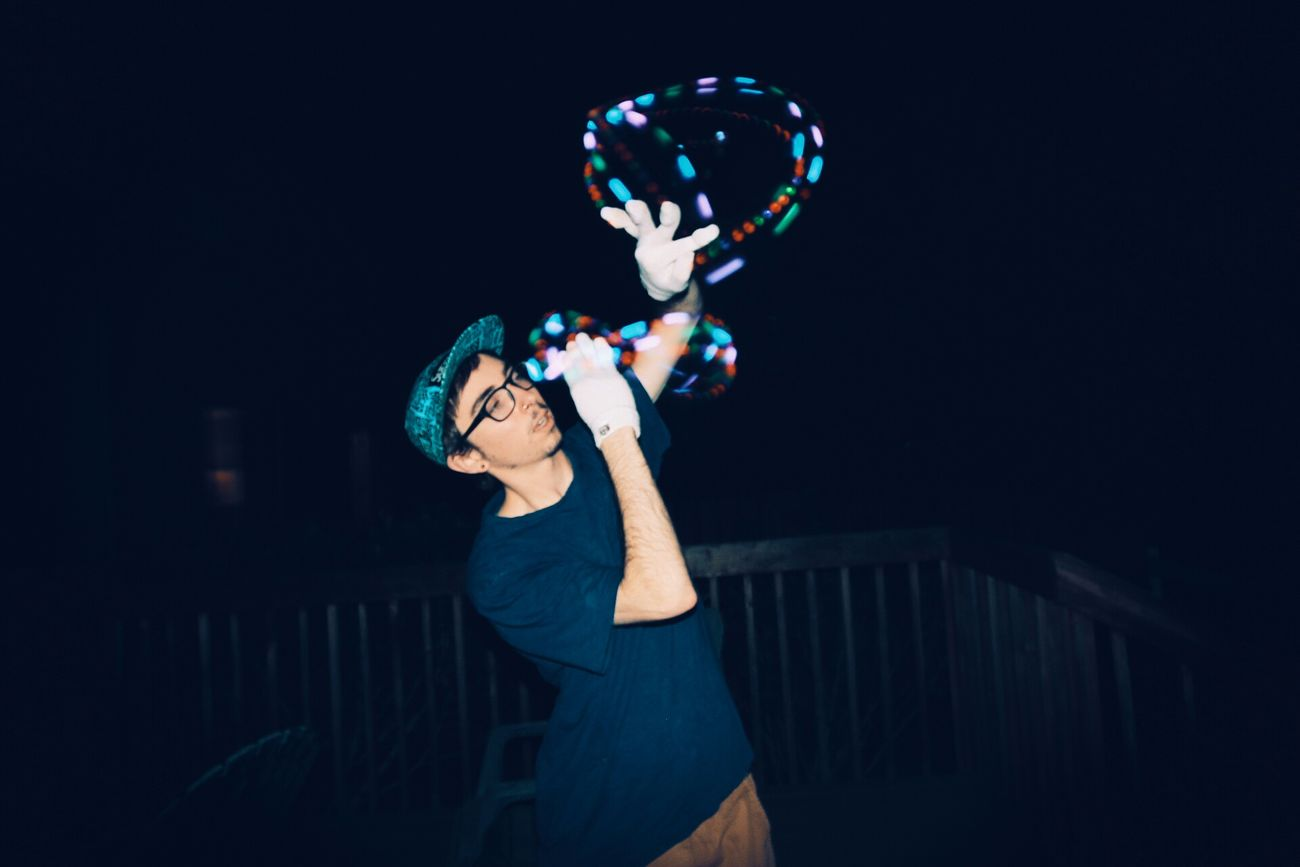 The Action Photographer - 2015 EyeEm Awards Gloving in action Gloving Lighttrails Lights Action Night Longexposure Contest