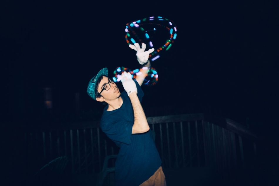 The Action Photographer - 2015 EyeEm Awards Gloving in action Gloving Lighttrails Lights Action Night Longexposure Contest