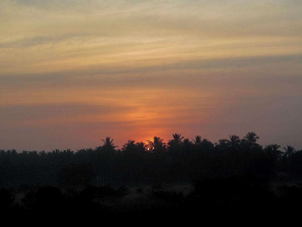 The Magic Mission Dawn Tranquil Scene Scenics Beauty In Nature Nature Sky Cloud - Sky Majestic Non-urban Scene Not Sunset Sunrise Travel