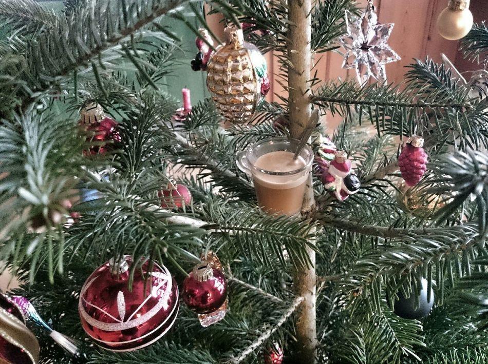 le café de noël... Coffee Time Christmas Tree
