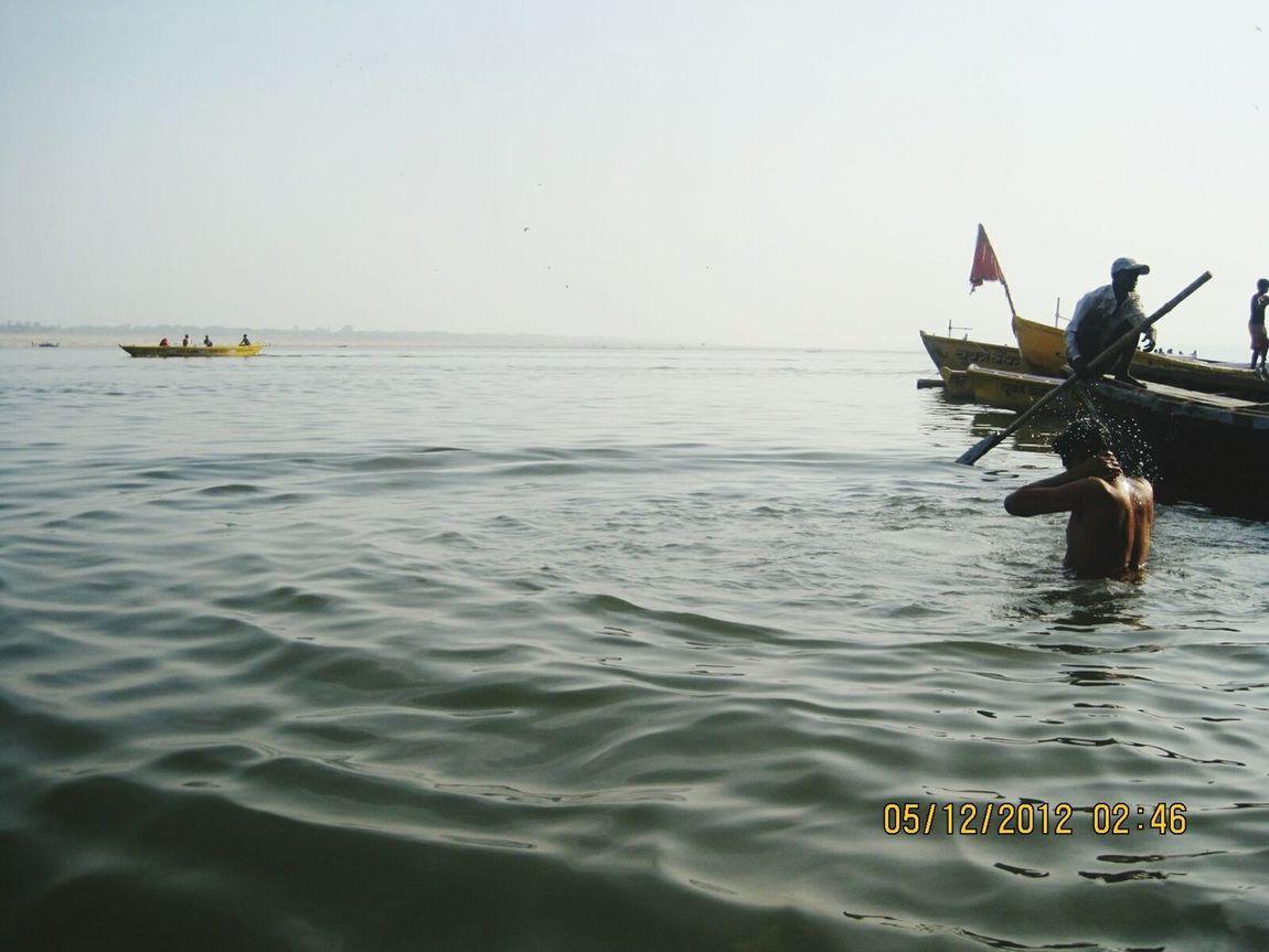 Water Ganga River Gangaghat Ganga River Holy Prayer Peace Ganga Aarti Holybathing Temple Boats⛵️ Boats