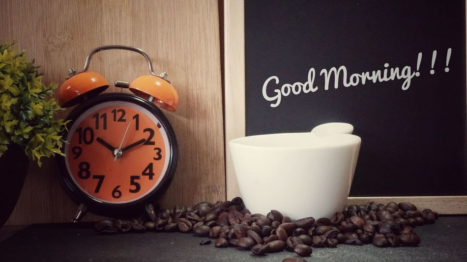 Time Alarm Clock No People Good Morning! Goodday Coffiee Time Coffiecup Close-up Workplace View Coffiebean Nice Day Refershing Breaktime Breakfast ♥ StillLifePhotography Art Of Seen Working Hard Tree Interior Photography Indoors  Office Drink Espresso Food And Drink Coffee - Drink