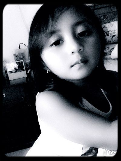 My Beautifull Nieces 💜 Baby Mayza Mizz Nunuy Taking Photos Eye4photography  EyeEm Indonesia Enjoying Life Kiddos Black And White Black & White