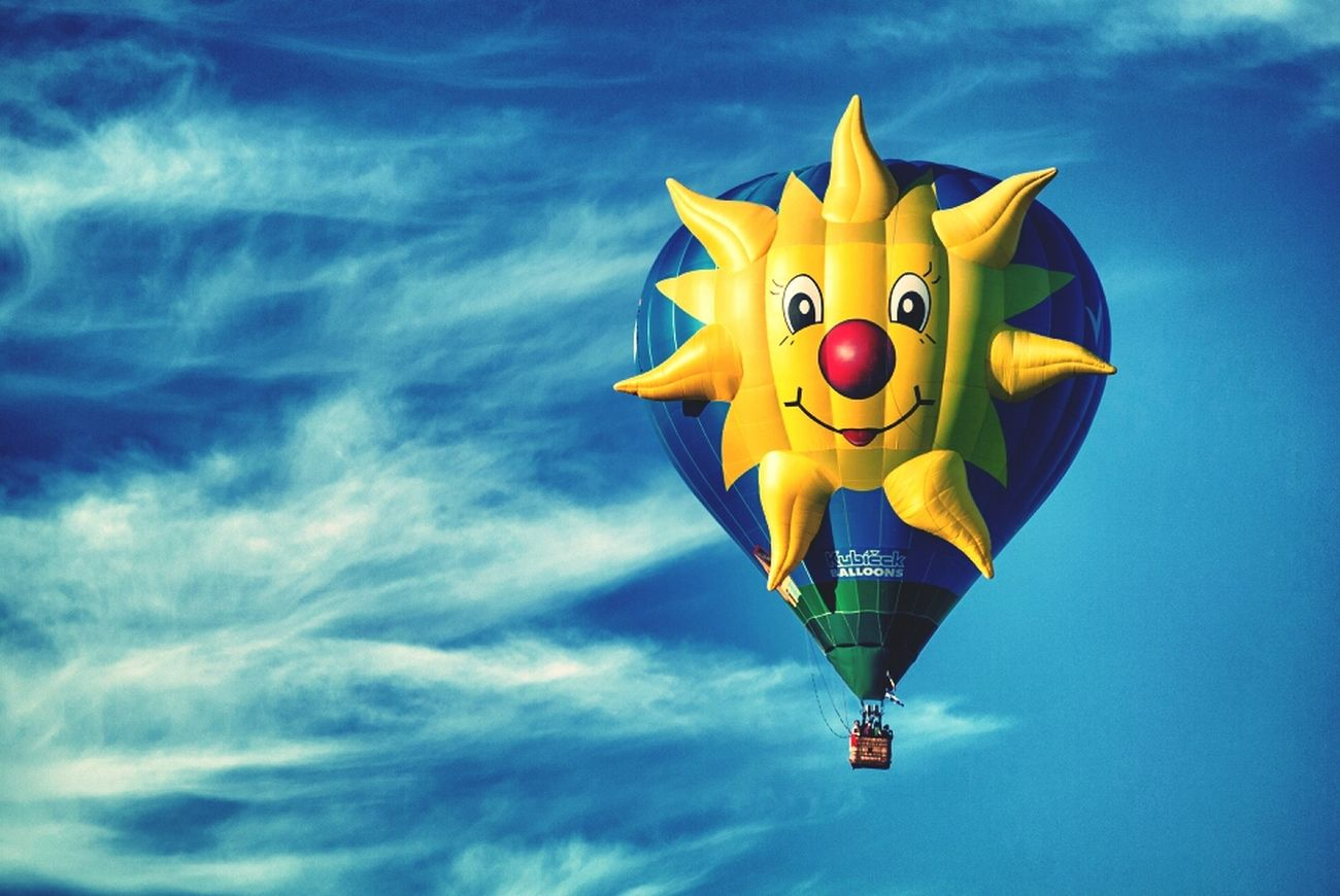 Clouds Sunshine Sky Clouds And Sky Hot Air Balloons Hey Stella