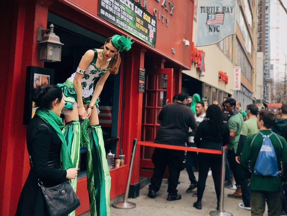 IPhoneography Saint Patrick's Day Streetphotography Humans Of New York New York City
