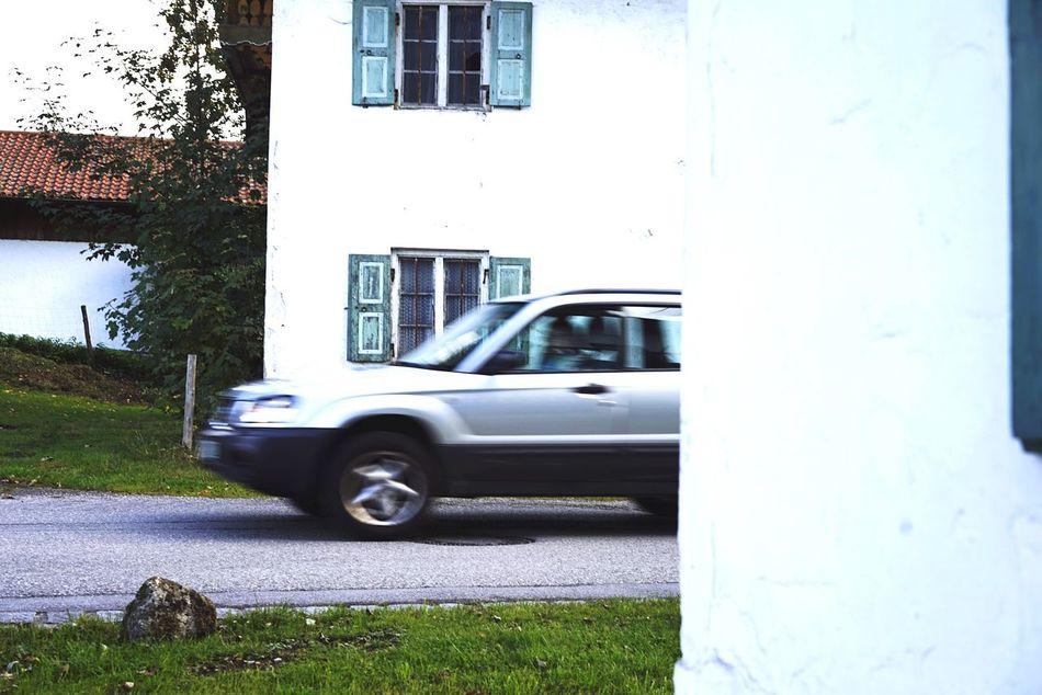 Car Village Car Driving Motion Rural Life Motion Blur Driving Traffic
