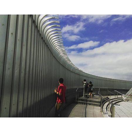 長這麼大......第一次上來這貴寶地啊… Work Portofolio Traveling Building Taipei taipei101 skyandclouds blue