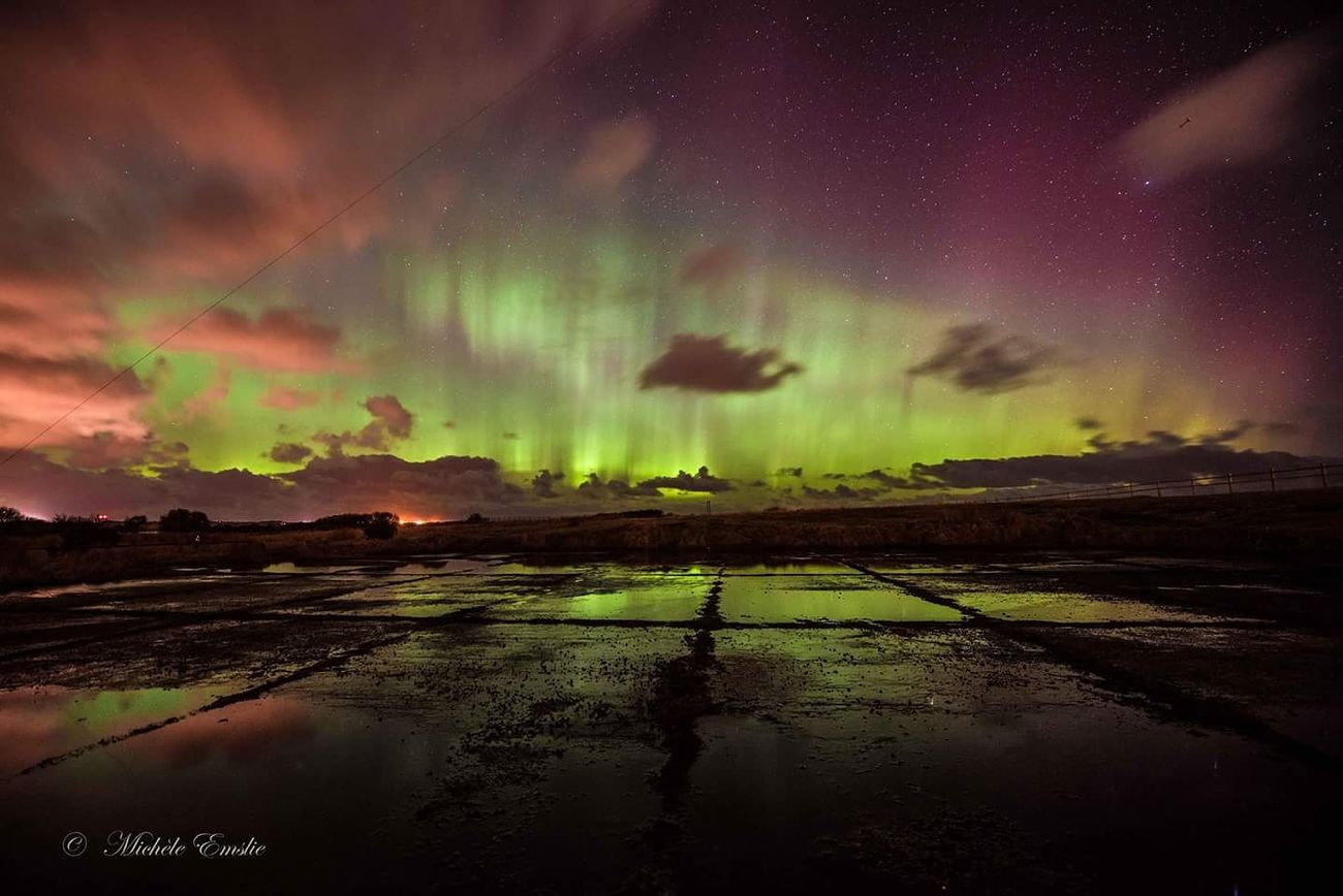 More from the fabulous Aurora display on Mothersday. This was taken at HMS Merganser (aka Crimond airfield) previously a Ww2 Airship station in The Wet & Icy base at the end of the Runway gave a Lovely Reflection .... Aurora Borealis Taking Photos Auroraborealis Northern Lights Scotland Northernlightsphotos Light In The Darkness Longexposure Long Exposure Aberdeen,Scotland Nikonphotography VisitScotland Beauty In Nature Scotland 💕 Showcase March