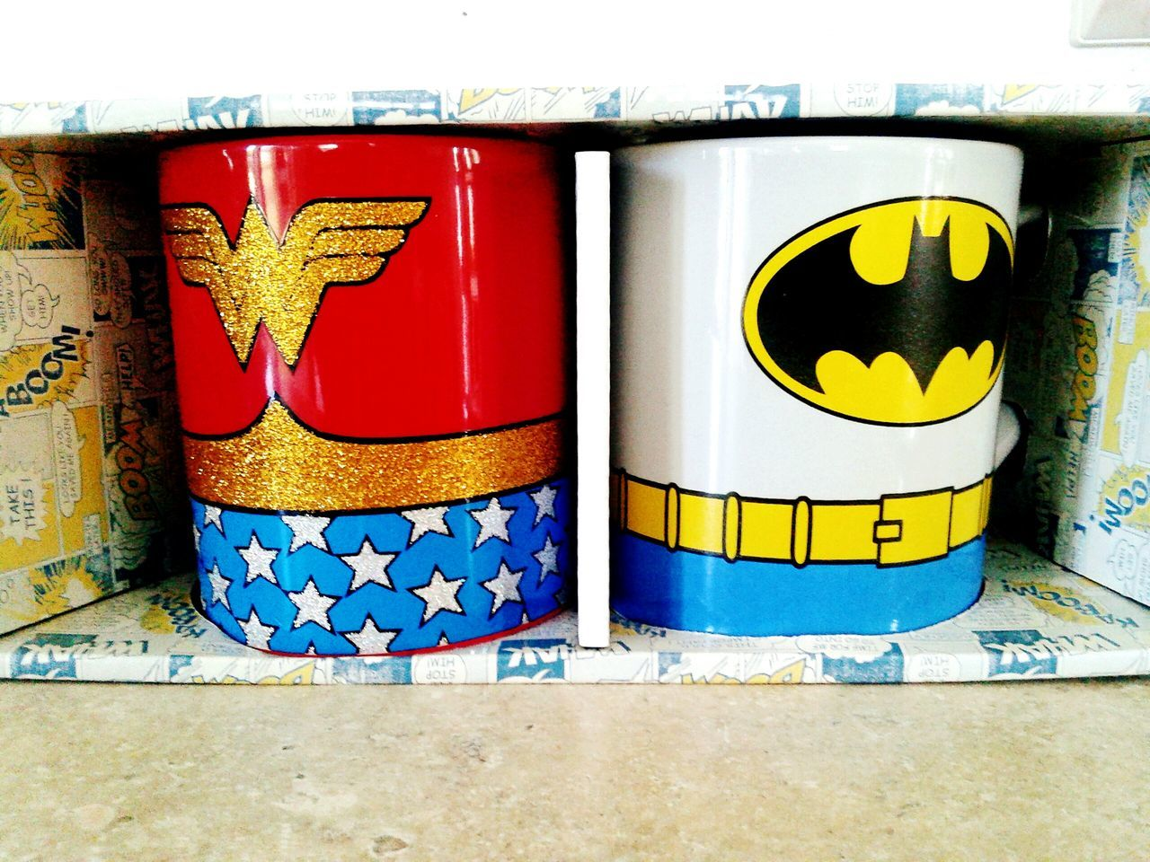Justiceleague Batmanwonderwoman, Batman fave mugs Lookatthis Mugs