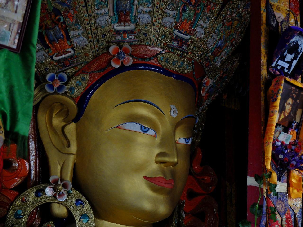 Day Human Representation Idol Indoors  Jammu And Kashmir Leh Ladakh No People Place Of Worship Religion Sculpture Spirituality Statue Symbol