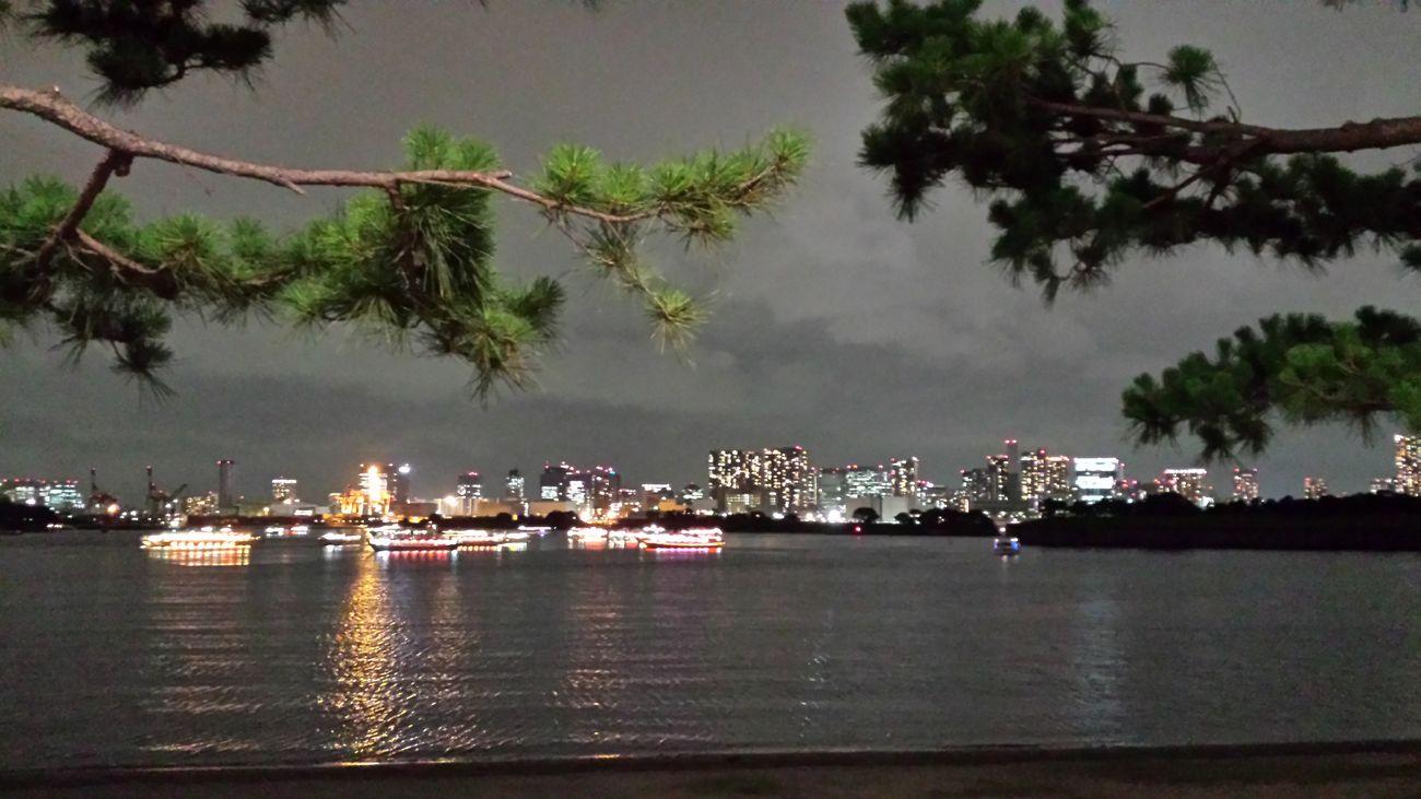 Odaiba Tokyo , Japan , Night View , Tokyo Bay , Seaside , Beach View