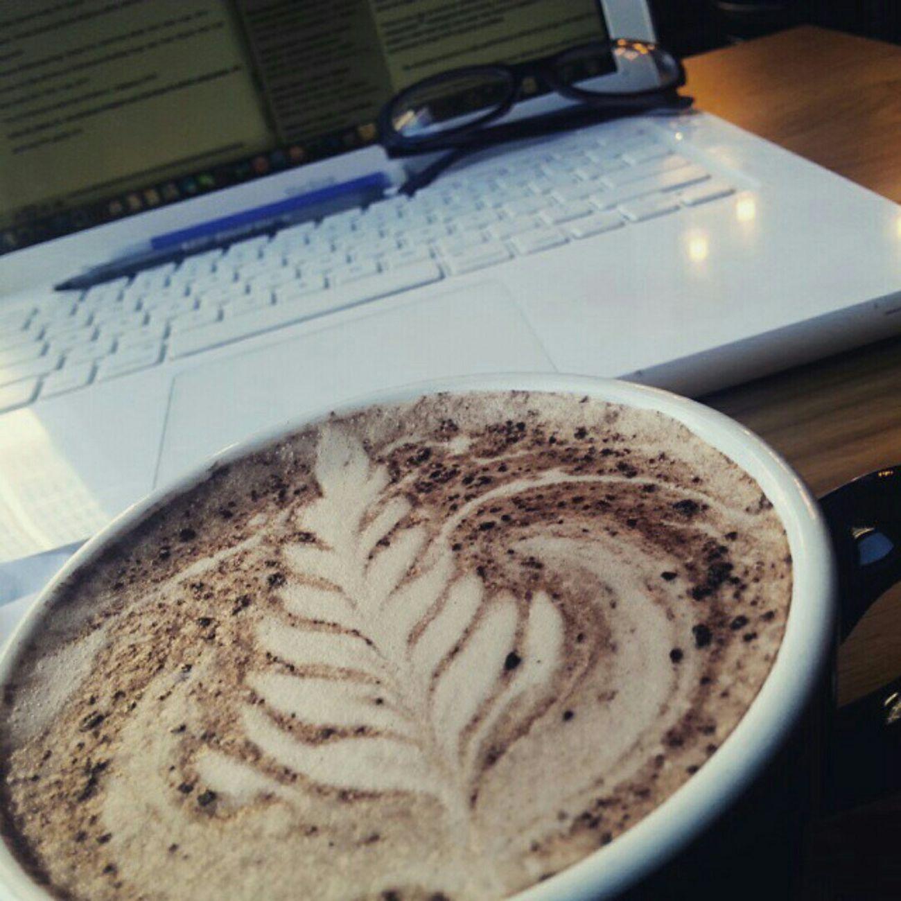 Deceptively Simple Hotchocolate Frothymonkeycafe Studying