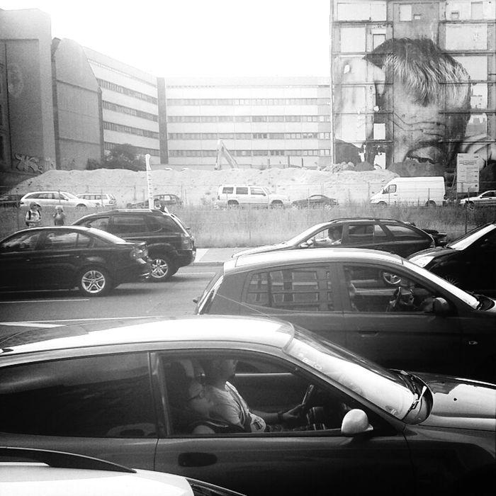 Tired Of It Blackandwhite Berlin Streetart Wrinkles Of The City