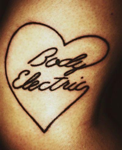 Close-up Drawing - Art Product No People Drawing - Activity Indoors  Tattoo LanaDelRey Body Electric Heart Shape Inked Leg Inkedgirls Art