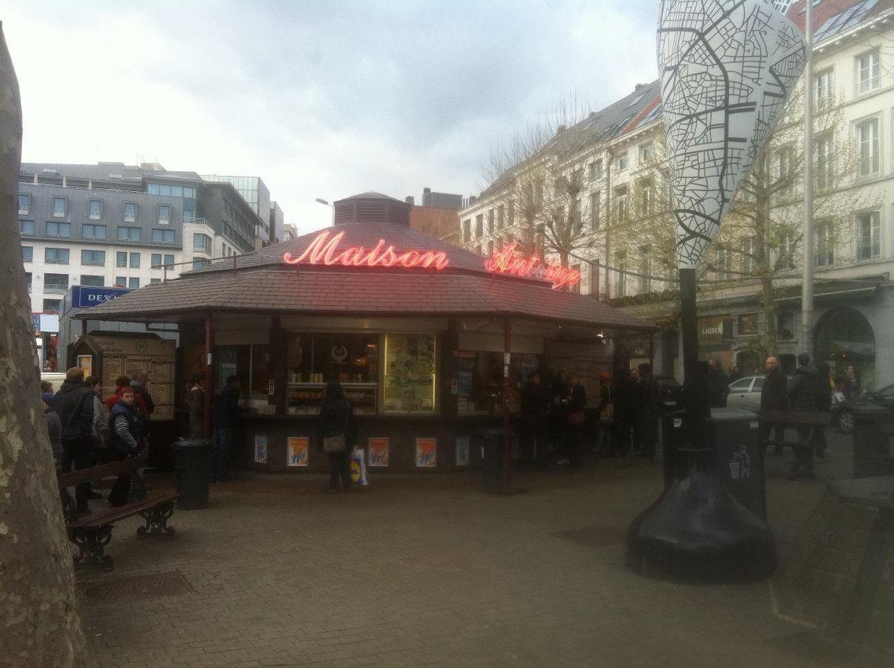 at Place Jourdanplein