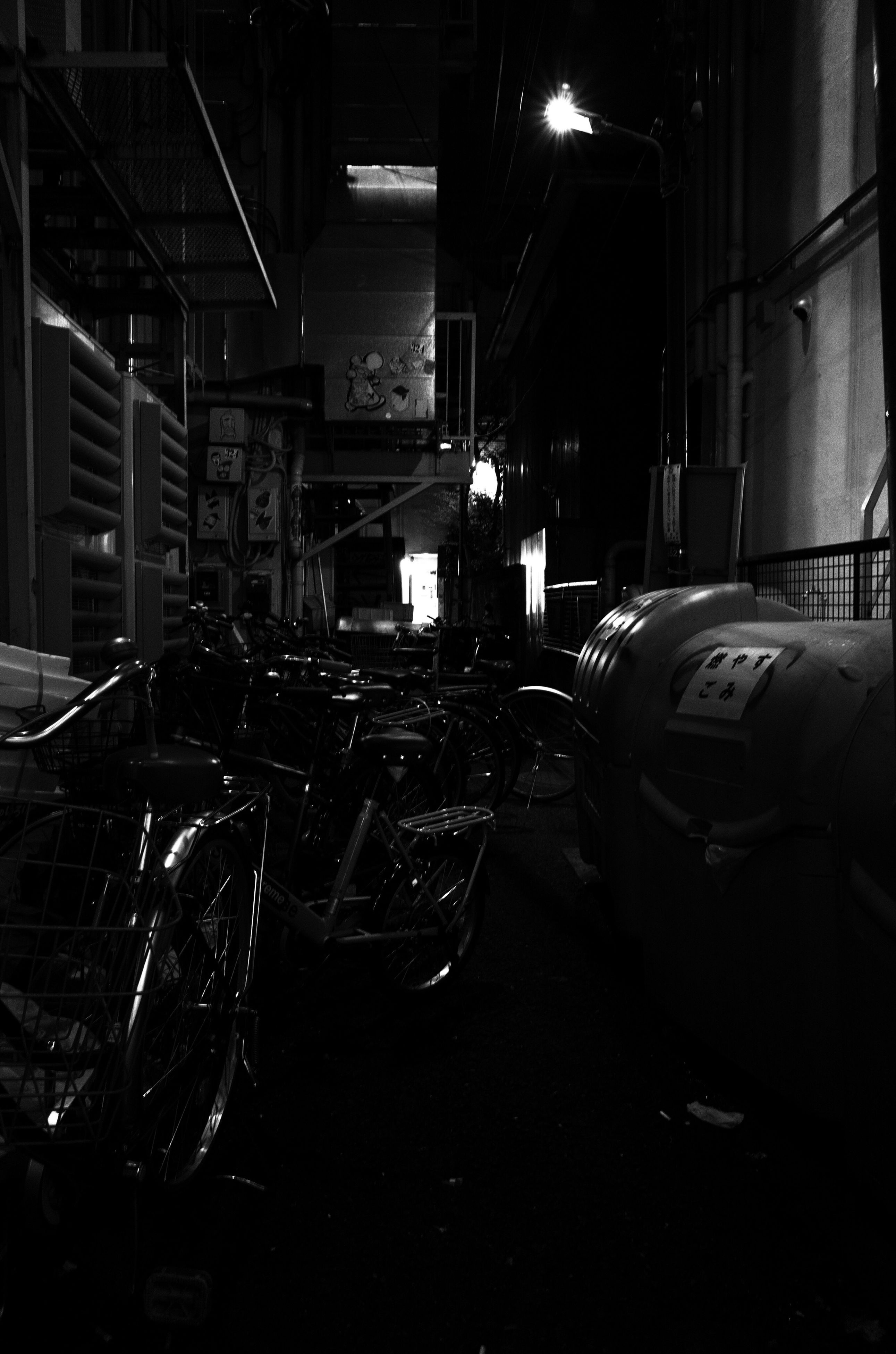 indoors, illuminated, no people, night, film industry