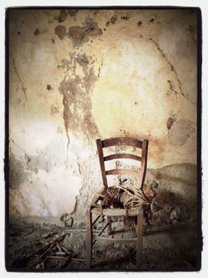 Chair at balestrino by claudiaeffe_