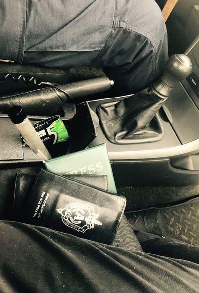 Ashtray  Car Corolla Fsb Moscow Press Presscard Vehicle Seat карманная пепельница пепельница пепка