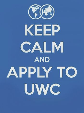 Dream UWC College Wish Me Luck