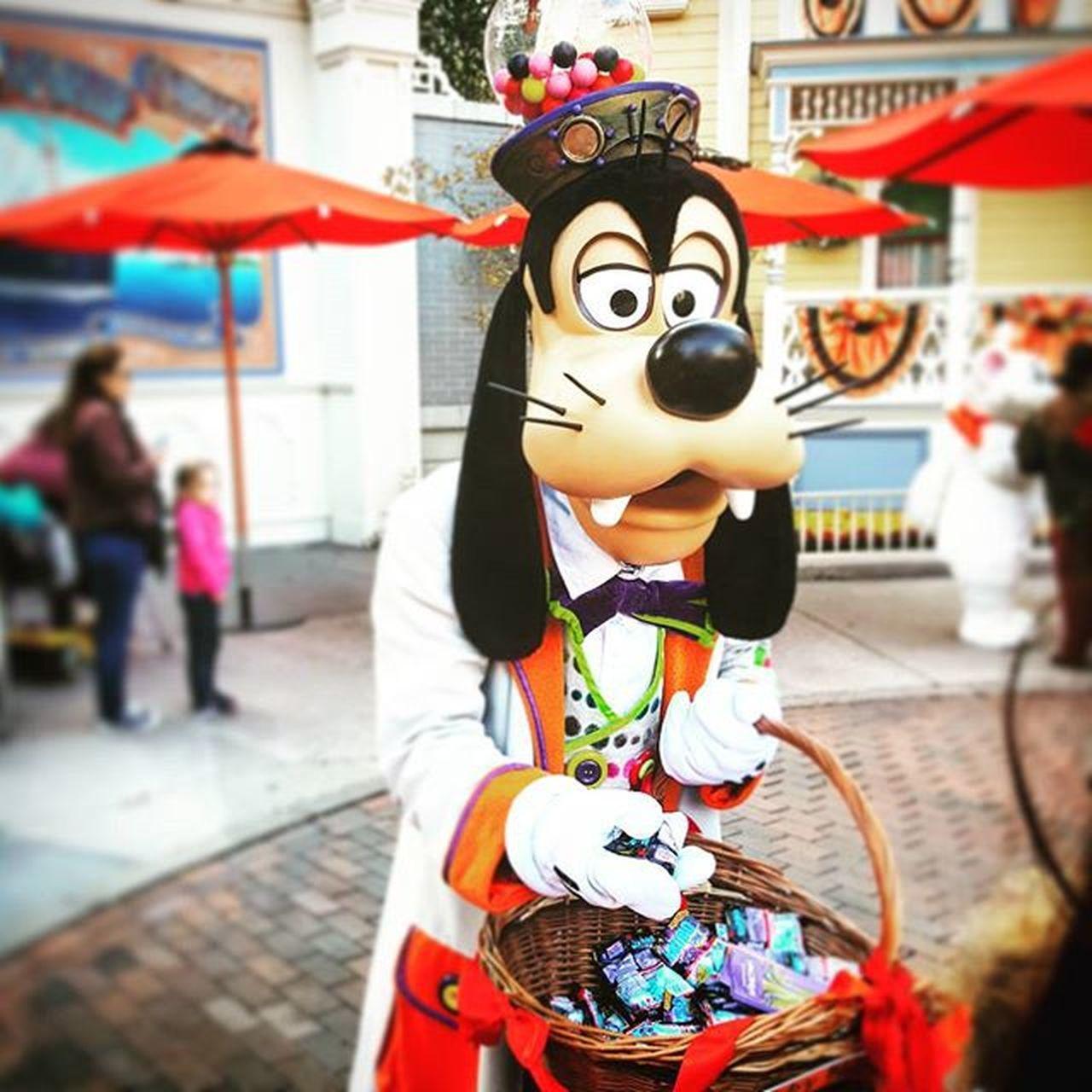 Disneylandparis Disneyland Disney Halloween goofy dingo