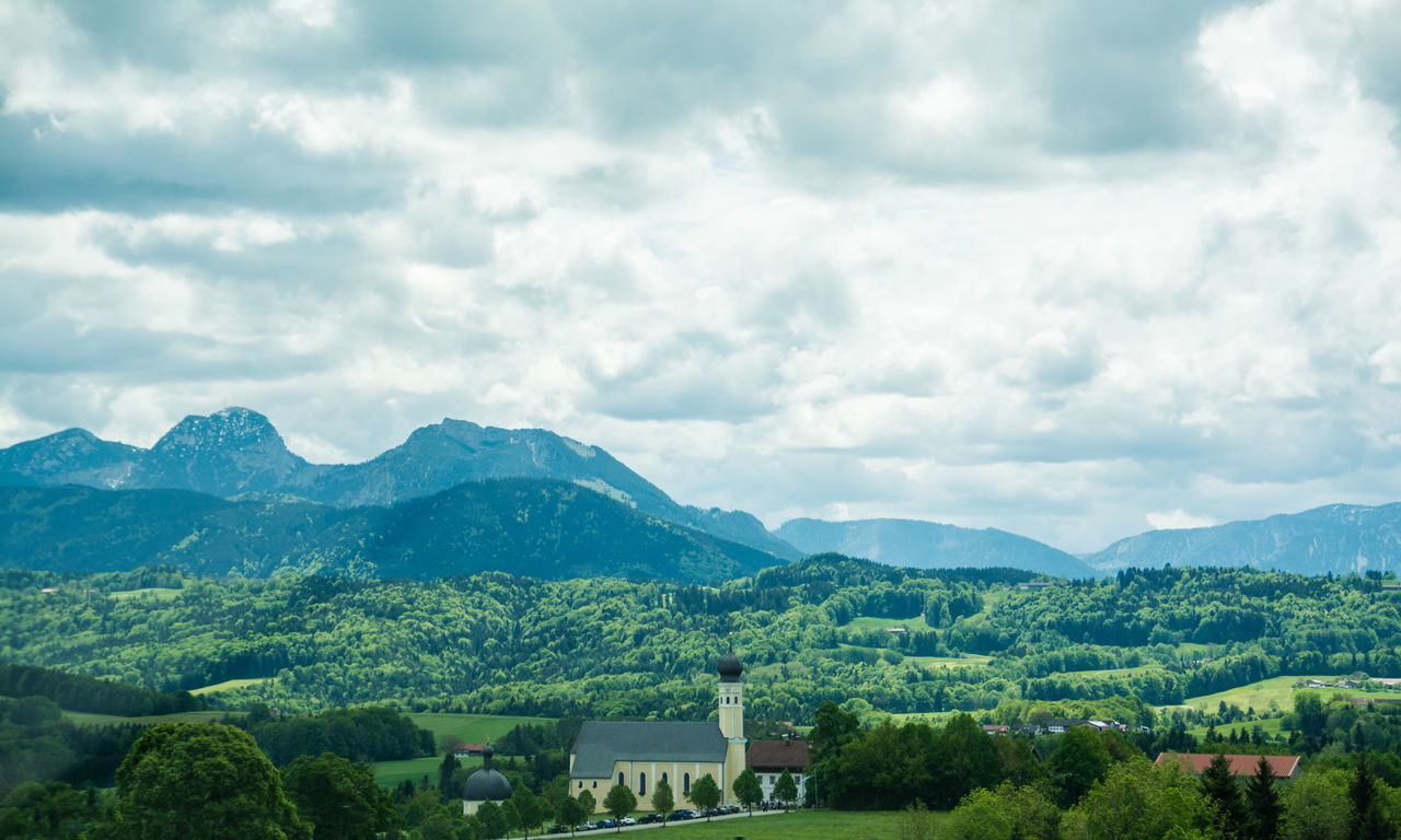 Alpenpanorama Alps Architecture Beauty In Nature Building Exterior Built Structure Church Cloud - Sky Day Dramatic Landscape Drivebyphotography Landscape Landscape_Collection Landschaftsbilder Mountain Mountain Range Nature Nikon Nikonphotography No People Outdoors Scenics Sky Tree Live For The Story BYOPaper! The Great Outdoors - 2017 EyeEm Awards