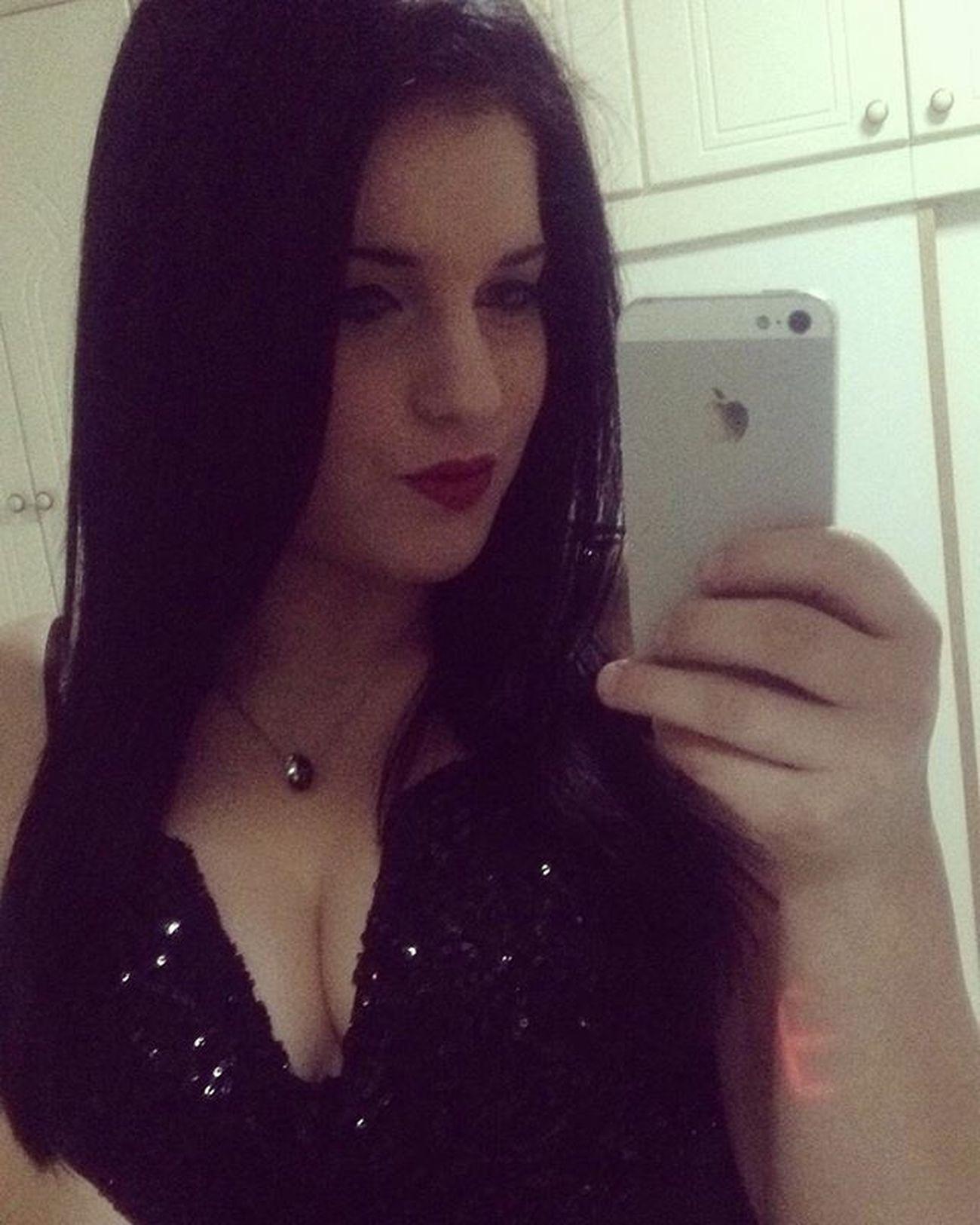 NEW YEAR'S EVE 💕 Happynewyear NYE Dress Black Brosway Selfie
