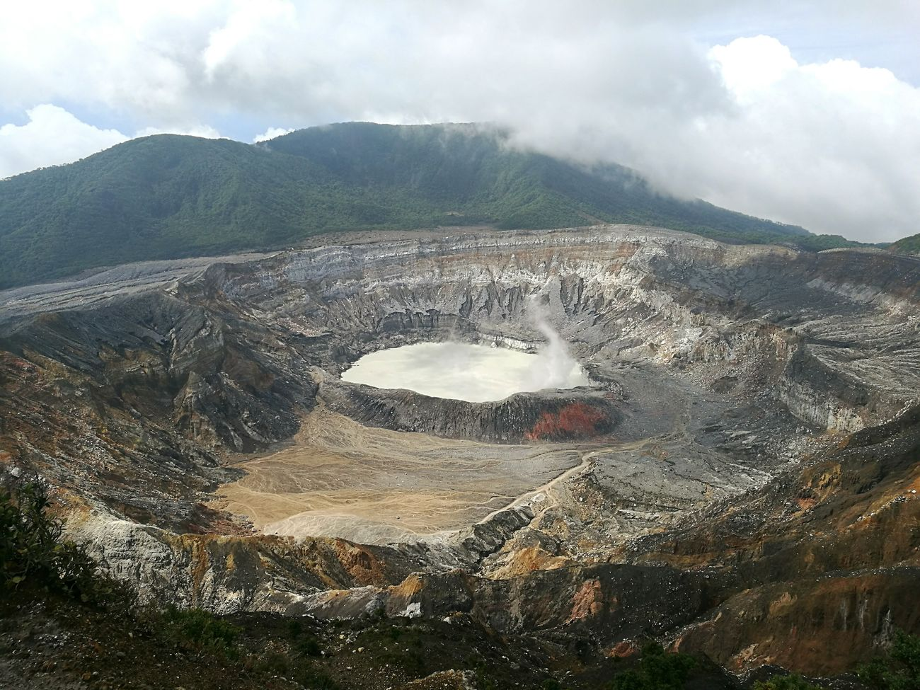 Volcano Nature Volcano Crater Volcano National Park Volcano Landscape Costa Rica Naturelovers