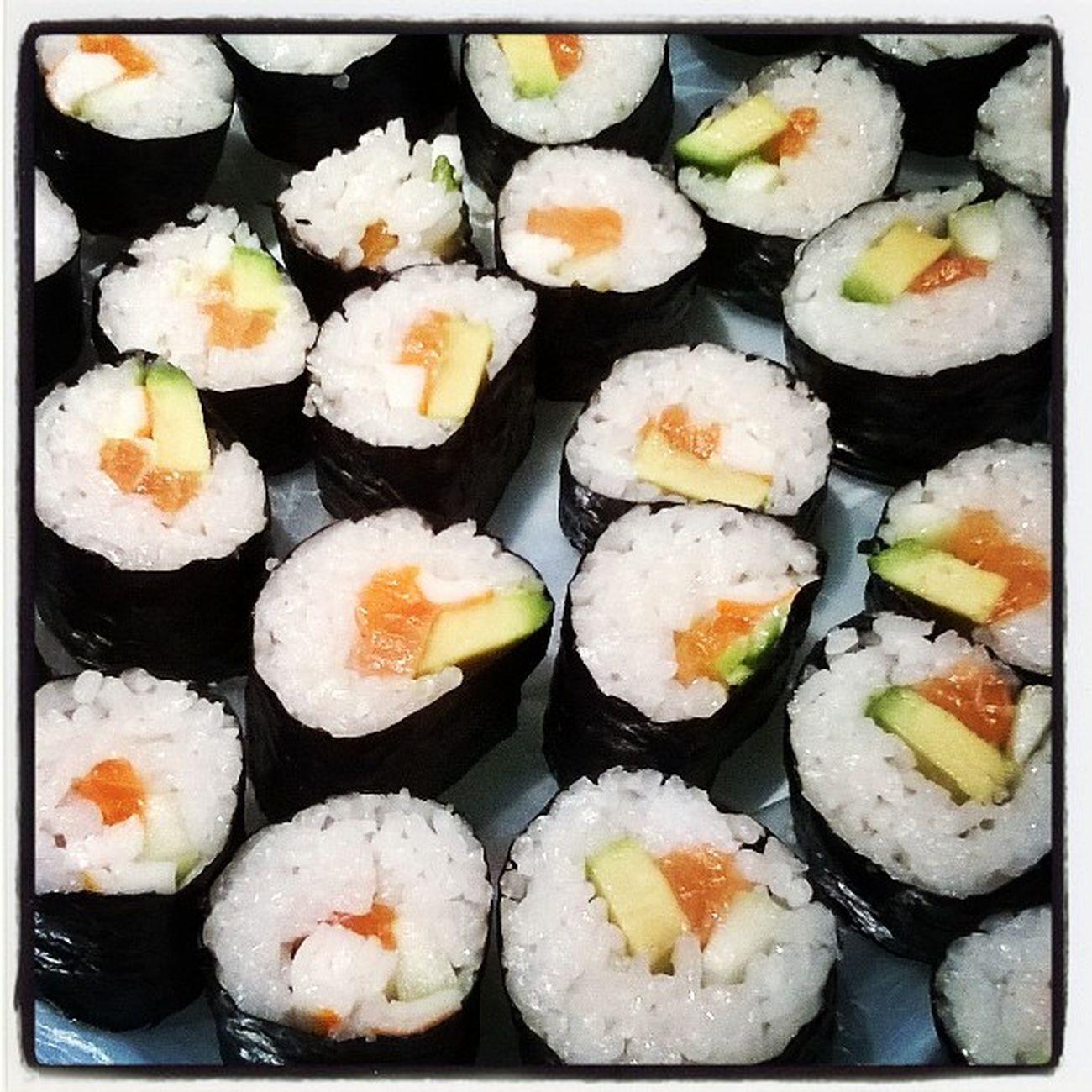 Makkis Homemaid Cook  Rice Salmon Japanesefood