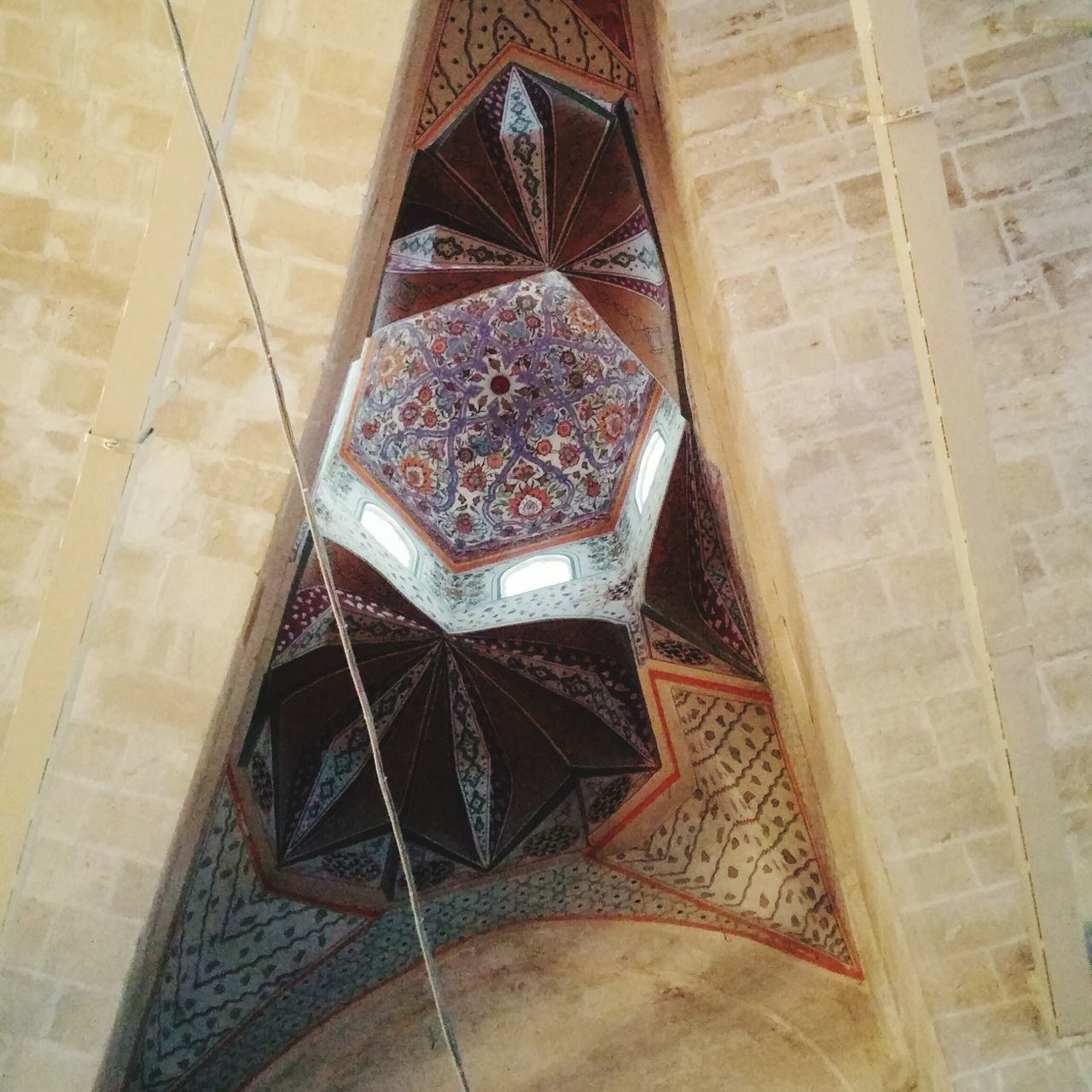 Triangle Old Buildings Window Abondoned Edirne Turkey Built Structure Painting Complicated Arch