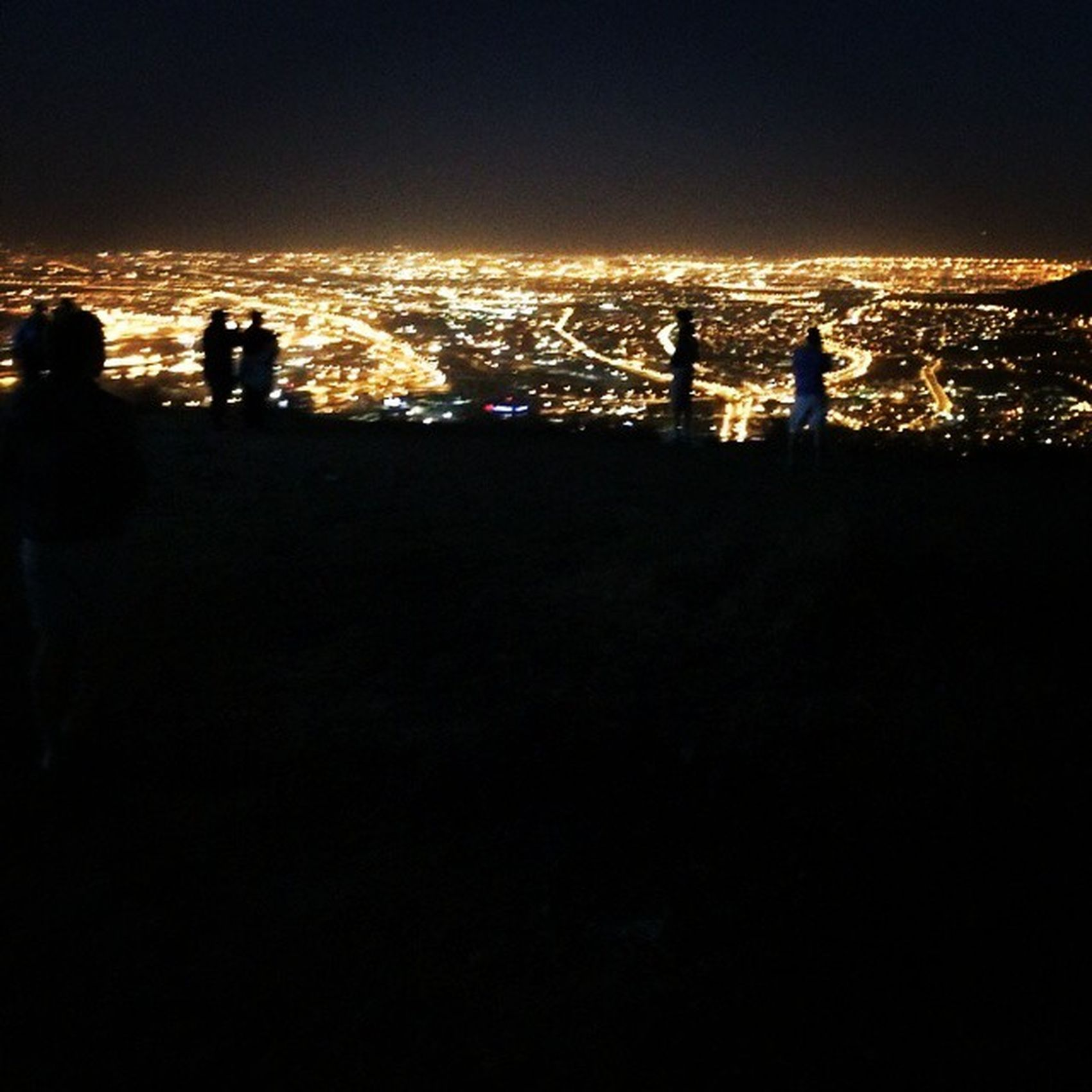 Capetownlights Capetown Signalhill View viewpoint lights dark city sunstar westerncape holiday hill photography like bright