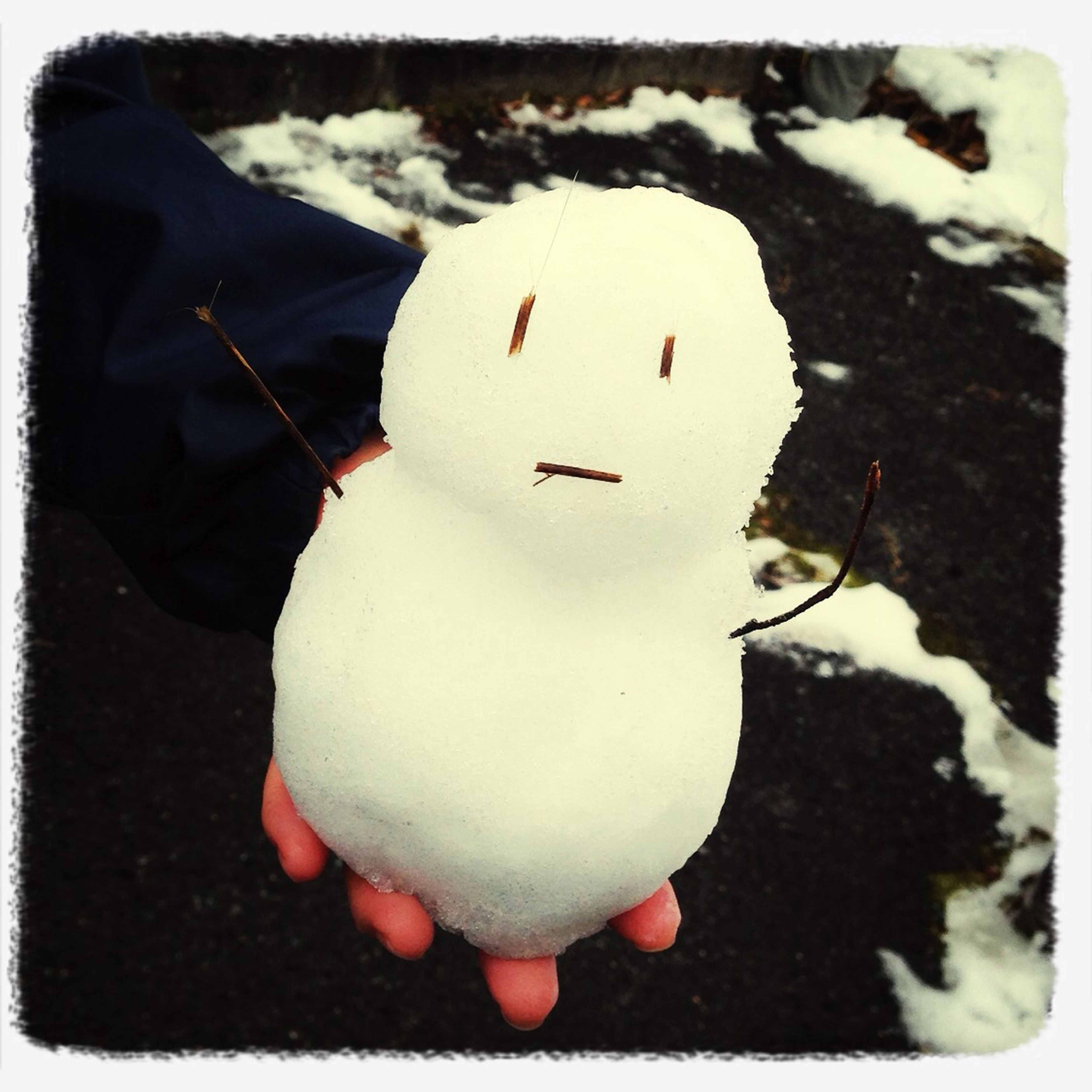 Snow man : )