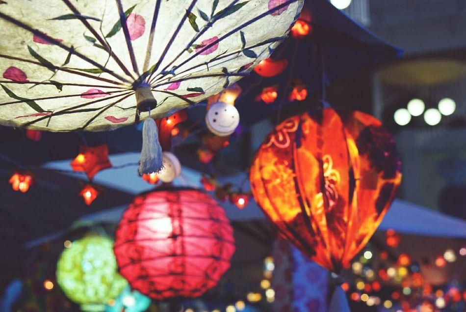 Illuminated Hanging Lanterne Craft Work Thai Craft Northern Thai Craft Chiangmai Thailand