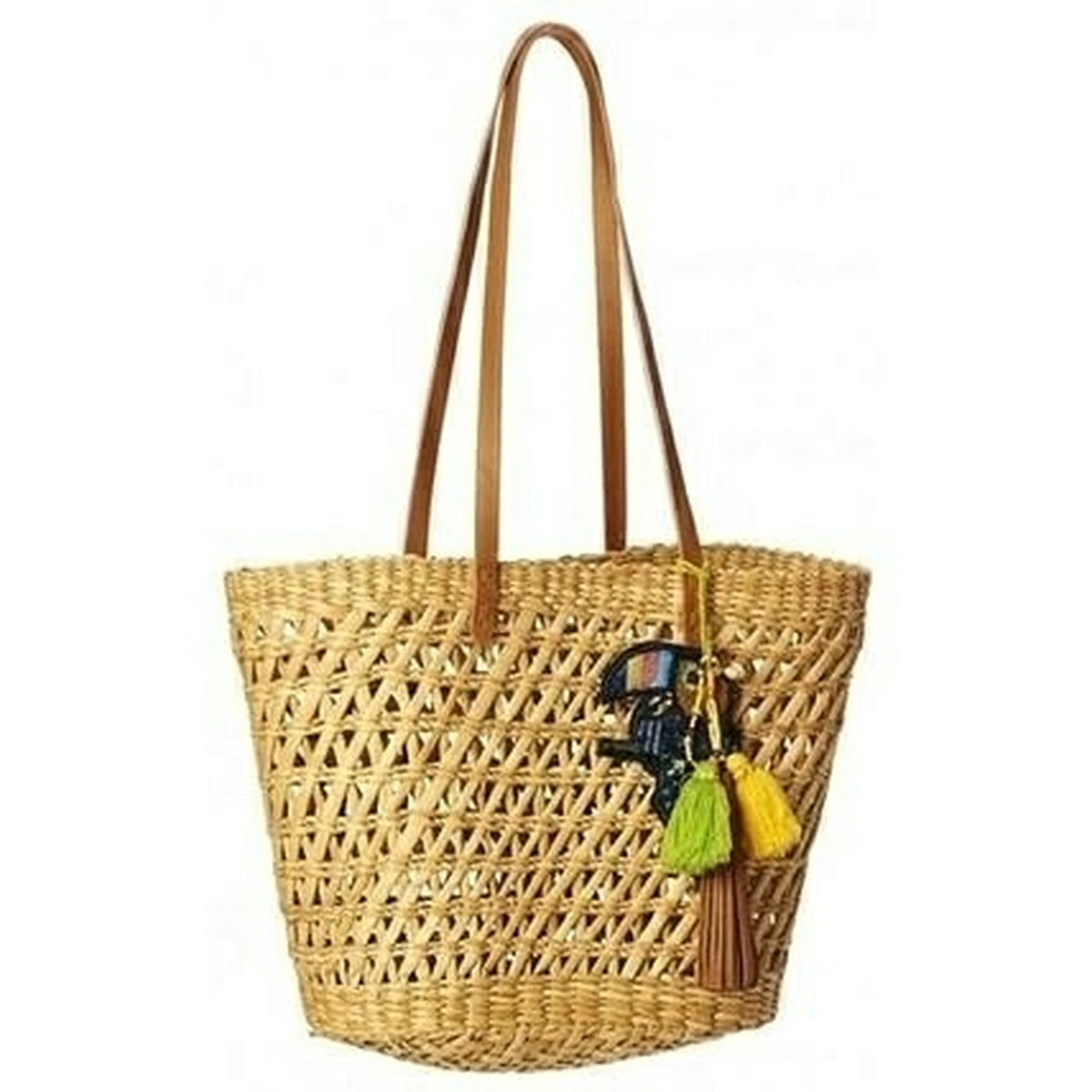 basket, cut out, white background, yellow, no people, close-up, day