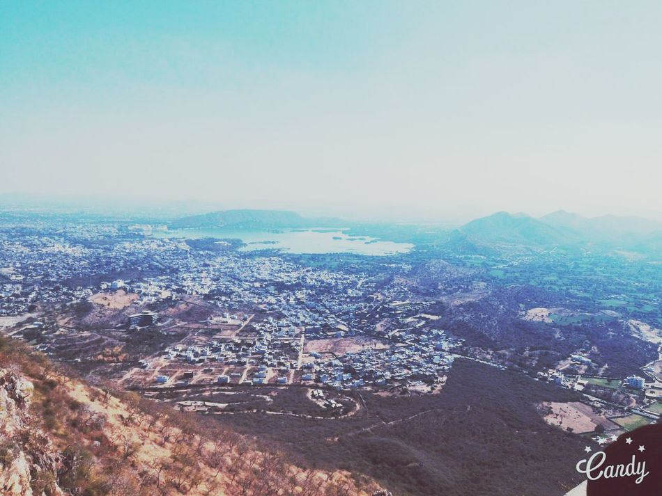 Bird's eye view of udaipur city,rajasthan Relaxing Hanging Out Enjoying Life Found On The Roll