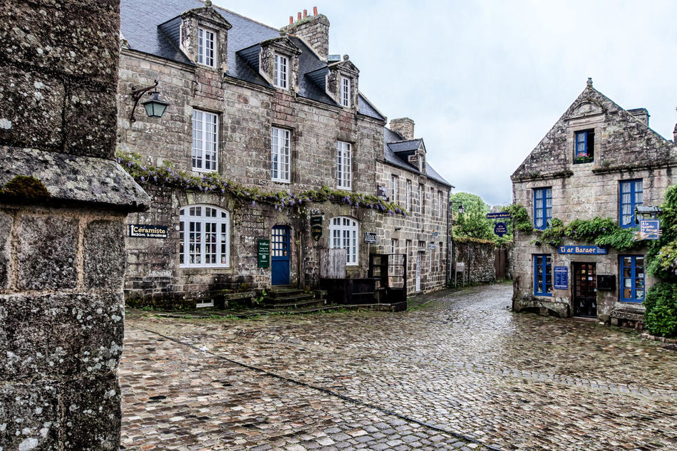 Architecture Bretagne Bretagne France Bretagnetourisme Building Exterior City Clouds Day Locronan Medieval No People Outdoors Rain Rainy Day Rainy Days