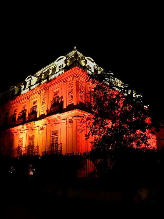 Fiilux Night Architecture Mérida Yucatán