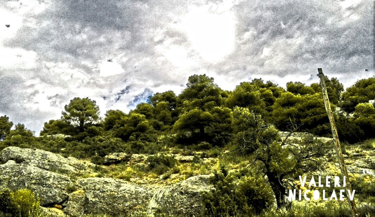 Mountain Landscape Cloudy Day Taking A Walk