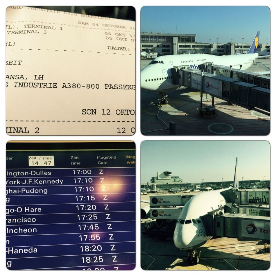 Flying to Beijing by the biggest plane of the world Airbus 380 Traveling Flying Airbus A380 Lufthansa