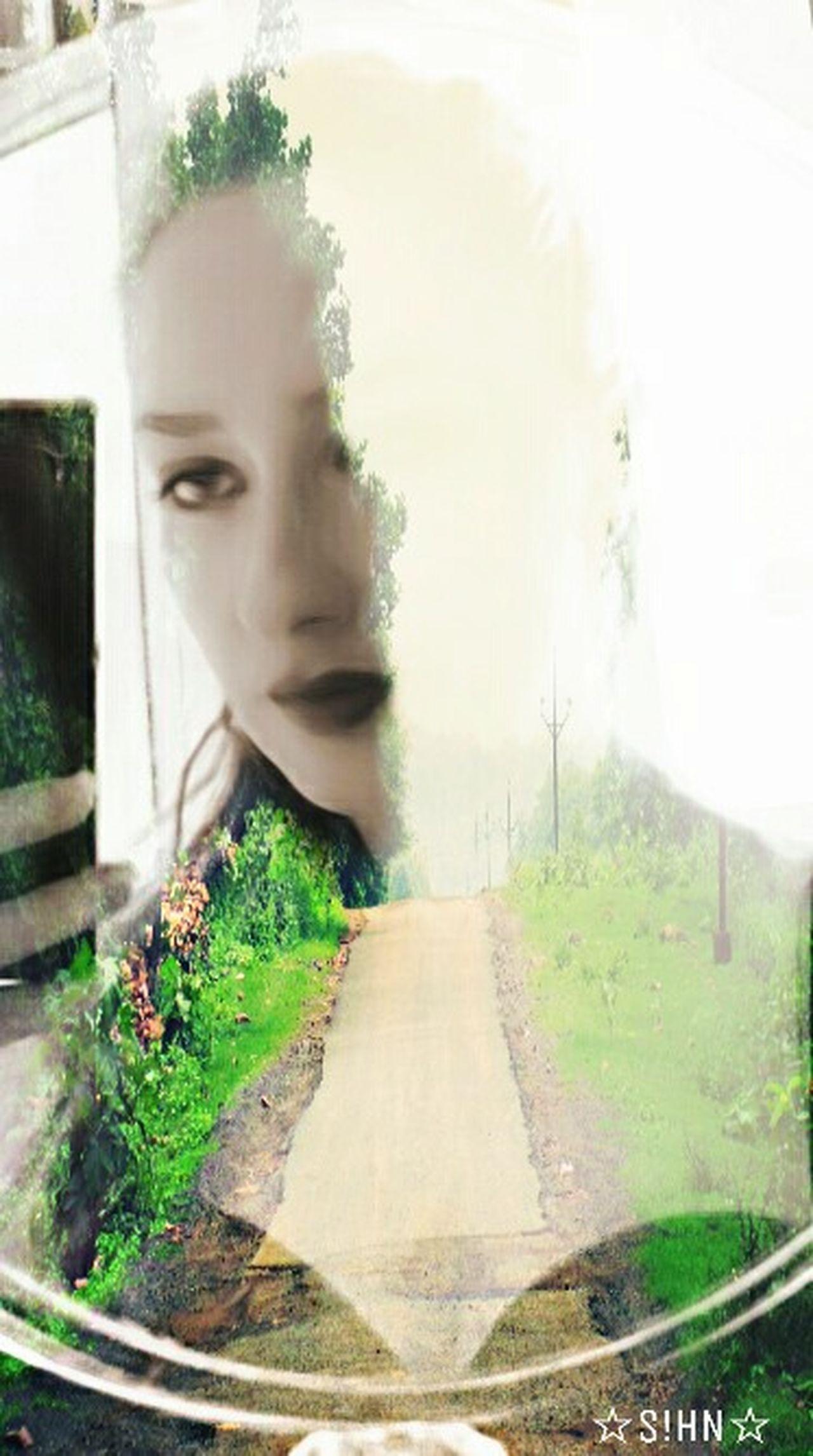 Self Portrait MYArtwork❤ EyeEm Best Edits Freetoedit Drawstepbystep Double Exposure Artistic Expression Masks My Photography Selfportrait Artisticselfie