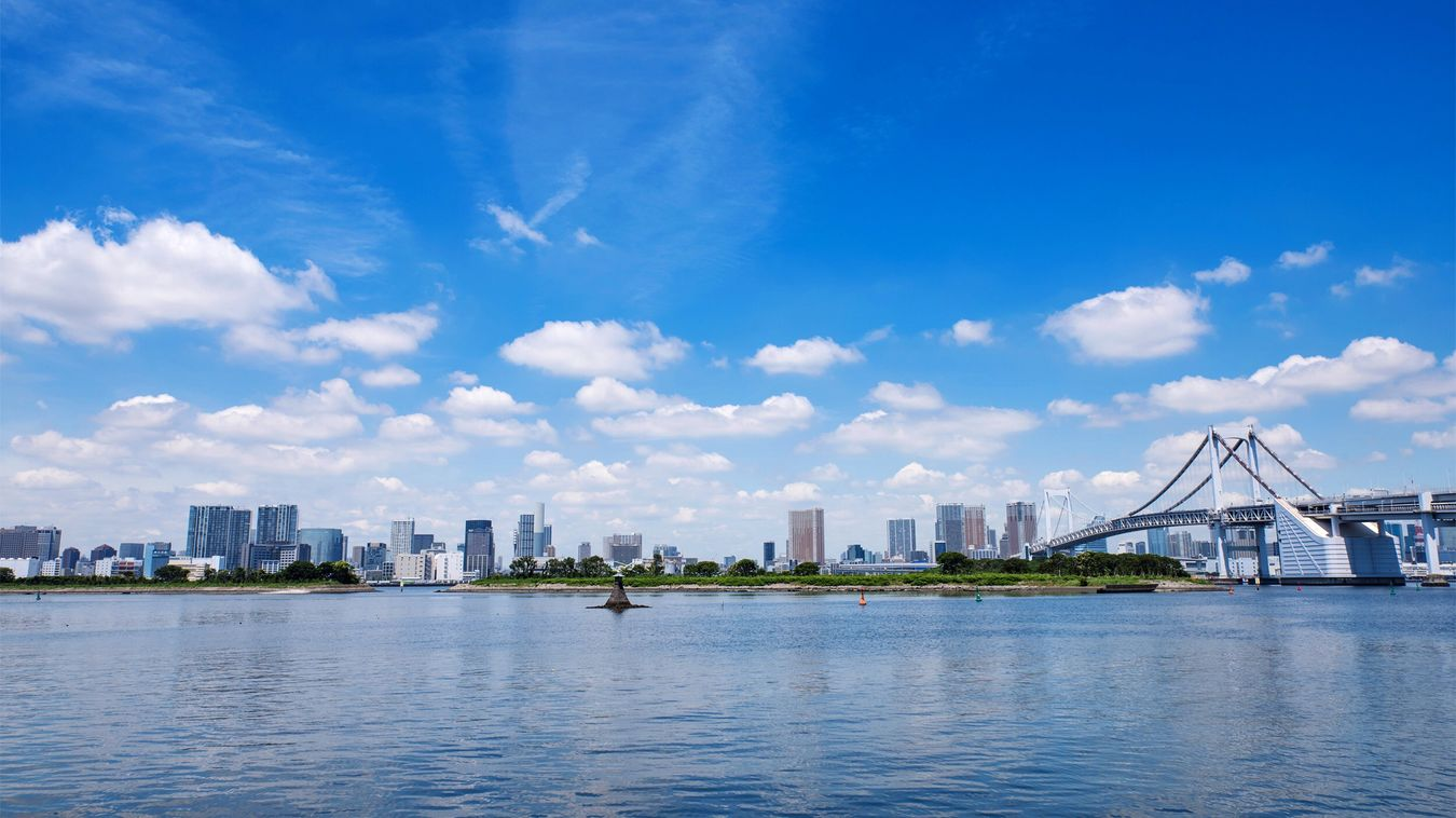 Landscape Rainbow Bridge Odaiba Tokyo Bay Tokyo EyeEm Best Shots Japan レインボーブリッジ 東京湾